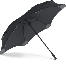 Load image into Gallery viewer, Black XL Blunt Umbrella View From Under