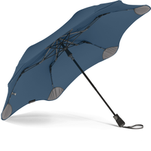 Load image into Gallery viewer, Navy Blue Metro Blunt Umbrella View From Under