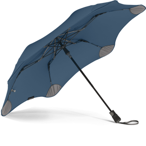 Navy Blue Metro Blunt Umbrella View From Under