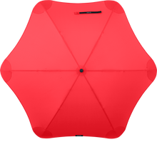 Red Classic Blunt Umbrella Top View