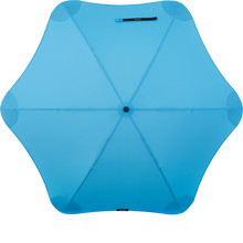 Load image into Gallery viewer, Blue Classic Blunt Umbrella Top View