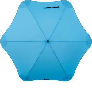 Blue Classic Blunt Umbrella Top View