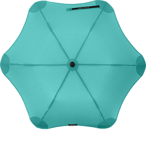 Mint Metro Blunt Umbrella Top View