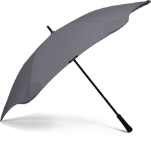 Load image into Gallery viewer, Charcoal Classic Blunt Umbrella Side View