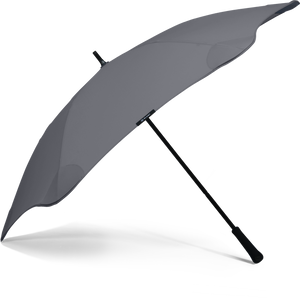 Charcoal Classic Blunt Umbrella Side View
