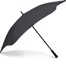 Load image into Gallery viewer, Black Classic Blunt Umbrella Side View