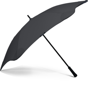 Black Classic Blunt Umbrella Side View