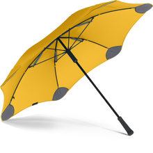 Load image into Gallery viewer, Yellow Classic Blunt Umbrella View From Under