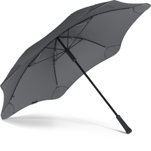 Charcoal Classic Blunt Umbrella View From Under