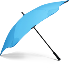 Load image into Gallery viewer, Blue Classic Blunt Umbrella Side View