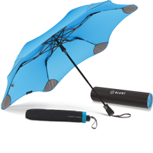 Load image into Gallery viewer, Blue Metro Blunt Umbrella Hero