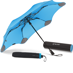 Blue Metro Blunt Umbrella Hero