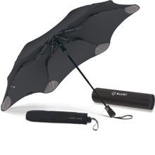 Load image into Gallery viewer, Black Metro Blunt Umbrella Hero