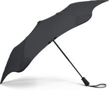 Load image into Gallery viewer, Black Metro Blunt Umbrella Side View