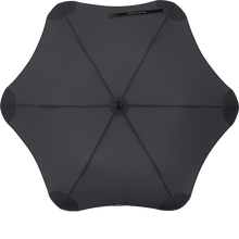 Load image into Gallery viewer, Black Metro Blunt Umbrella Top View