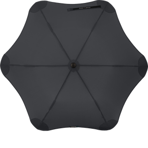 Black Metro Blunt Umbrella Top View