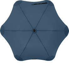 Load image into Gallery viewer, Navy Blue Metro Blunt Umbrella Top View