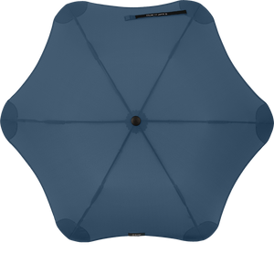 Navy Blue Metro Blunt Umbrella Top View
