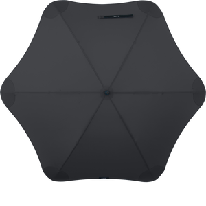Black Classic Blunt Umbrella Top View