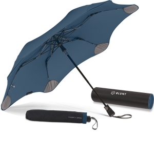 Navy Blue Metro Blunt Umbrella Hero