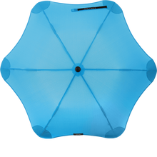 Load image into Gallery viewer, Blue Metro Blunt Umbrella Top View