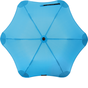 Blue Metro Blunt Umbrella Top View