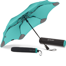 Load image into Gallery viewer, Mint Metro Blunt Umbrella Hero