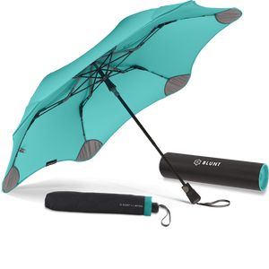 Mint Metro Blunt Umbrella Hero