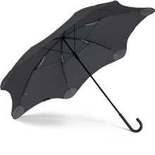 Load image into Gallery viewer, Black Lite Blunt Umbrella View From Under