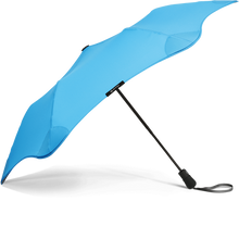 Load image into Gallery viewer, Blue Metro Blunt Umbrella Side View