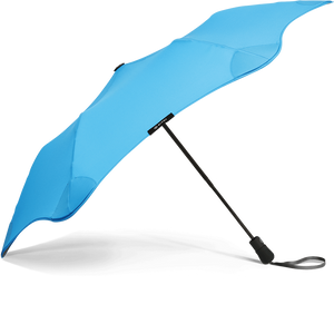 Blue Metro Blunt Umbrella Side View
