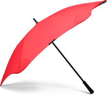 Red Classic Blunt Umbrella Side View