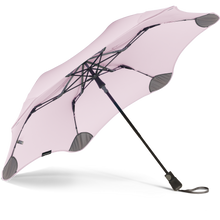 Load image into Gallery viewer, Blush Metro Blunt Umbrella Under View