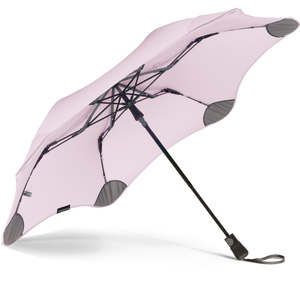 Blush Metro Blunt Umbrella Under View