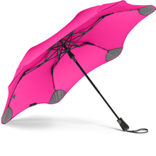 Load image into Gallery viewer, Pink Metro Blunt Umbrella View From Under