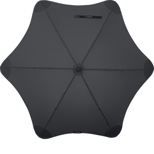 Black Lite Blunt Umbrella Top View