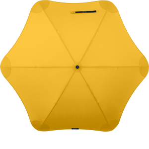 Yellow Classic Blunt Umbrella Top View