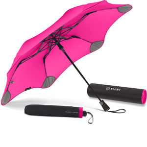 Pink Metro Blunt Umbrella Hero