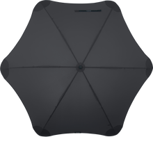 Load image into Gallery viewer, Black XL Blunt Umbrella Top View