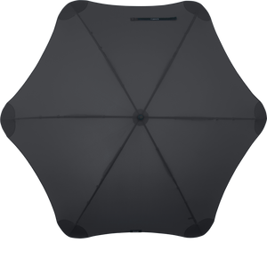Black XL Blunt Umbrella Top View