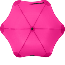 Load image into Gallery viewer, Pink Metro Blunt Umbrella Top View