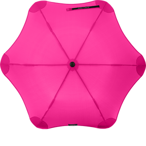 Pink Metro Blunt Umbrella Top View