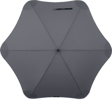 Load image into Gallery viewer, Charcoal Classic Blunt Umbrella Top View