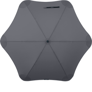 Charcoal Classic Blunt Umbrella Top View