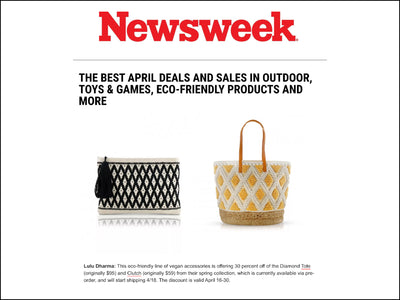Featured In Newsweek - Diamond Woven Collection (Earth Day)
