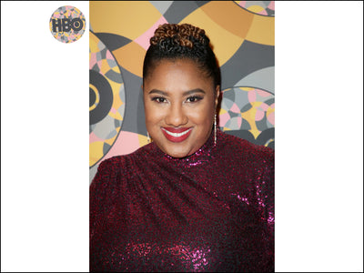 ASHLEY NICOLE BLACK WEARS LULU DHARMA LINEAR EARRINGS