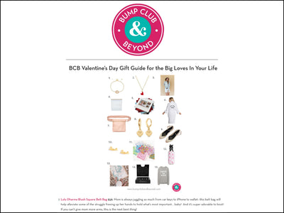 Featured in Bump Club & Beyond - Pink Square Belt Bag