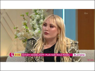 Hayley Hasselhoff wears Lulu Dharma Hoop Earrings