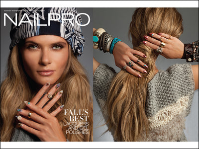 Nail Pro Magazine Features Lulu Dharma
