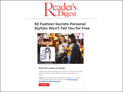 Featured in Reader's Digest - Scarf / Wrap